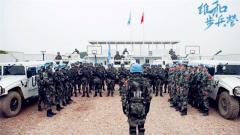 《维和步兵营》是为表达对中国维和军人的崇敬