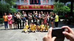 南粤军娃的专属儿童节:走进军营找爸爸