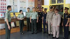 埃及军事科技学校代表团赴国防科大访问