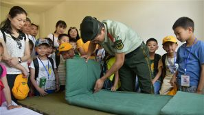 【六一】小学生进警营零距离体验部队生活