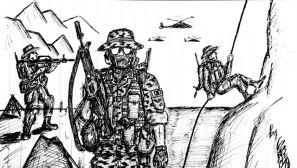笔尖上的强军梦:一名基层军官的十年