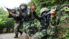 武警抚州支队:从难从实磨砺特战尖兵