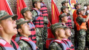 武警强军歌咏比赛  激励官兵斗志