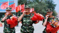 燃!部队命名日,看武警8643部队官兵如何霸气纪念