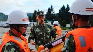 防汛演练有备无患 武警这个森林支队救援装备亮点多