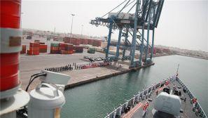中国海军远航访问编队抵达吉布提展开友好访问