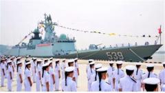 芜湖舰入列!海试视频震撼发布