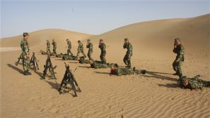 忠于职守  看沙漠深处的标兵中队是怎样炼成的