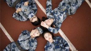 夏天了,来一波小清新的空军女兵靓照