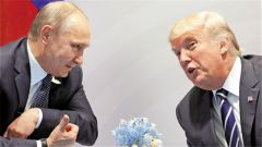 普京特朗普首次會晤 原定35分鐘談了兩小時