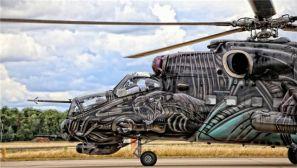 """米24武装直升机""""异形""""涂装来袭"""