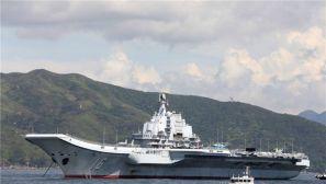辽宁舰编队即将离港 香港市民自发送别