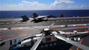 海军航母编队开展编队协同训练