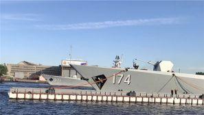 """中俄""""海上联合-2017""""军事演习第一阶段结束"""