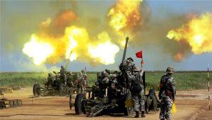 渤海之濱,他們上演實兵實彈射擊