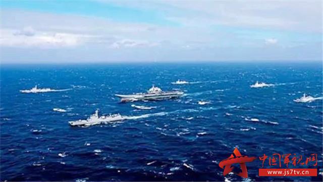 中国航母编队:牵动世界目光的航迹