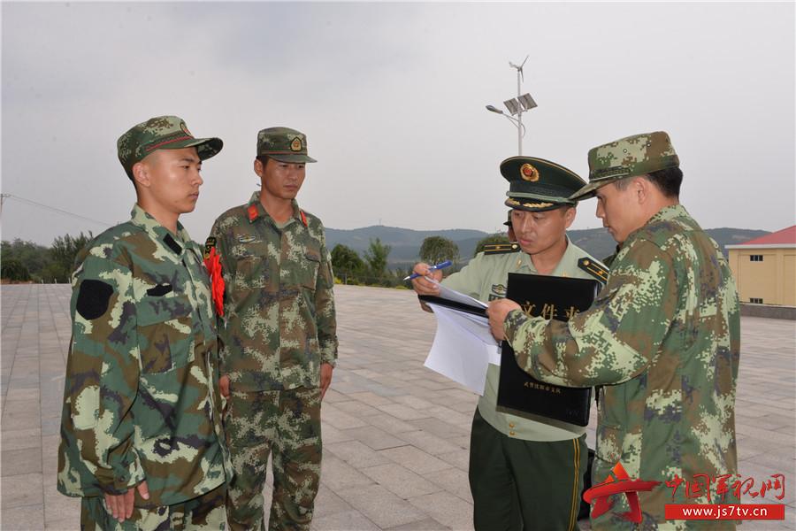 武警沈阳支队欢迎首批新兵入营