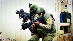 法国与科特迪瓦特种部队举行联合反恐演习