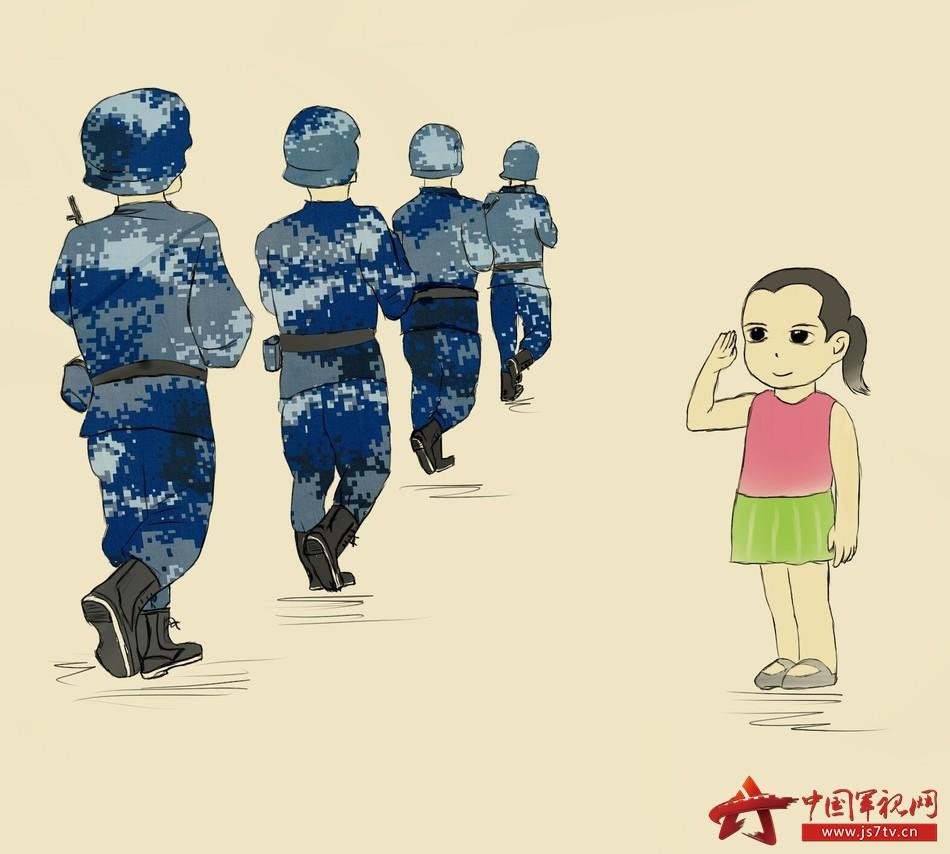 """【萌漫】和军人的""""小情意"""""""