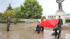 【喜迎十九大】武警淮安支队官兵满腔热情迎盛会
