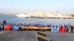 第26批护航编队圆满结束对法国的友好访问启程回国