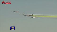 中国空军八一飞行表演队绽放迪拜上空