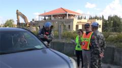 """黎巴嫩:中国赴黎维和部队参加""""猛虎""""演练"""