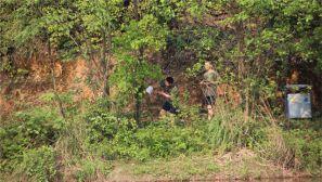 军校学员周末带你玩转定向越野