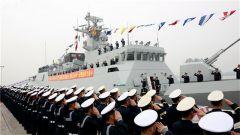 """""""遂宁""""舰加入人民海军战斗序列"""