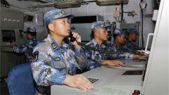中国海军运城舰圆满完成多边海上搜救演习