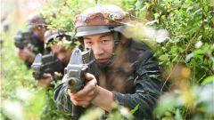 武警红蓝对抗检验特战分队实战能力