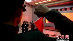 新疆军区某训练基地举行新兵授衔仪式暨入伍宣誓大会