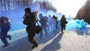 【新兵拉练】-30℃下的新兵野营拉练究竟是什么样