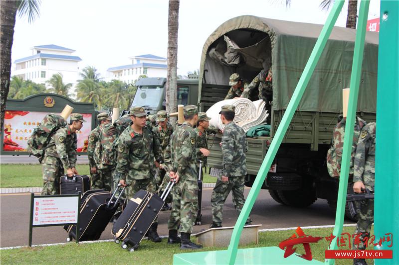 【新兵下连】武警海南省总队第一支队喜迎新兵下连