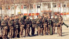 北部战区某旅摩步连:对抗训练激发官兵冬训热情