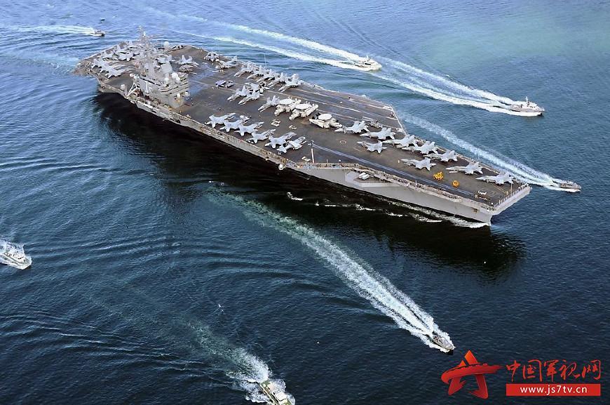 移动飞机场 美国航母动态式部署有何意图