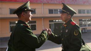 武警忻州支队300余名新兵新年赴新岗位