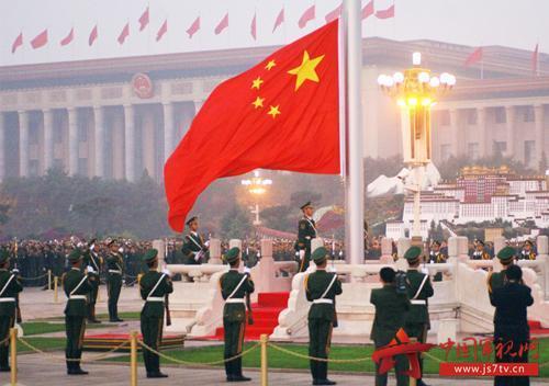 天安门广场升国旗仪式侧记:大国仪仗,新时代新气象