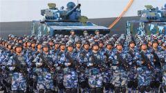 中国海军开训,请主席校阅