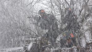 【闻令而动】武警阿坝支队顶风冒雪掀起练兵备战热潮
