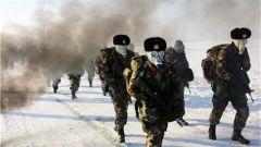 【武警风采】在冬季野营拉练中锤炼部队作战能力