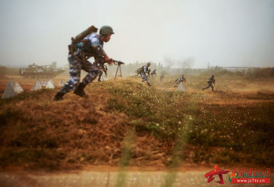标签:实战化海军陆战队红蓝对抗海军风采