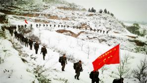 【拉练路上】零下20摄氏度,他们战风雪斗严寒