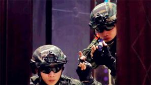 浙江杭州:武警特战开展CQB训练