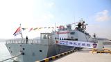 新型导弹护卫舰日照舰加入人民海军战斗序列