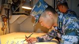 海军柳州舰组织实战背景高难科目训练