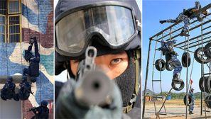 【开训即开战】海军陆战队开训 反恐精英范儿抢镜