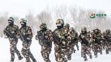 迎风踏雪,武警边防官兵带你感受-30℃练兵场的火热
