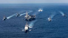 美卡尔·文森号航母战斗群又赴西太 明显警告韩国