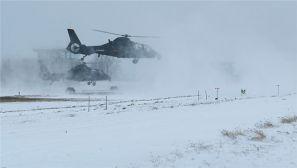 开训!极寒复杂条件下,陆航旅大集群编队出击